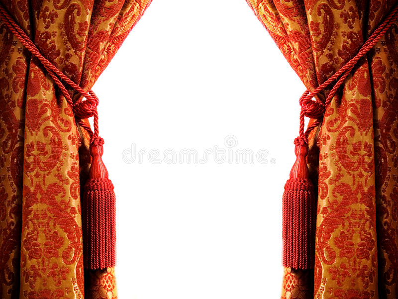 Download Luxury curtain stock photo. Image of copy, decoration - 3816486
