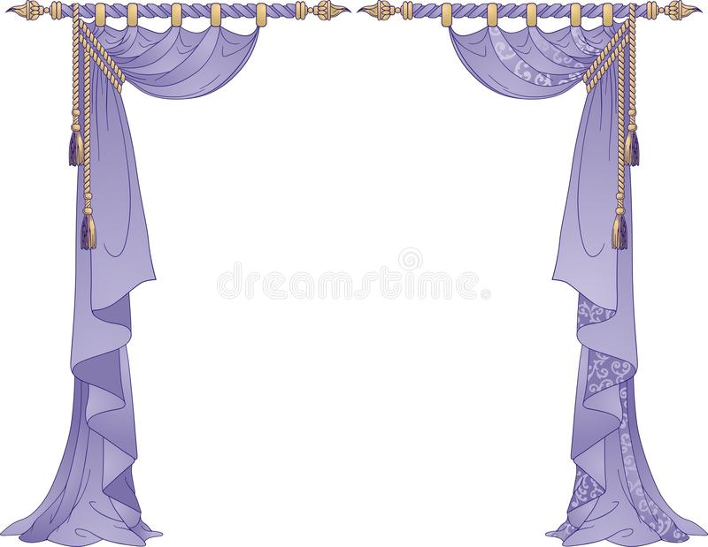 Download Luxury Curtains Royalty Free Stock Image - Image: 16044796