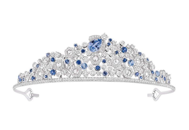 Luxury diamond tiara