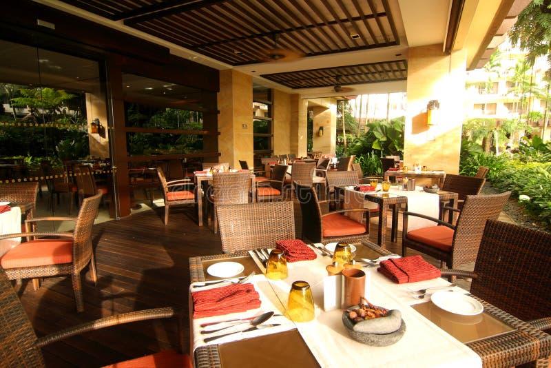 Luxury Dining Restaurant stock image
