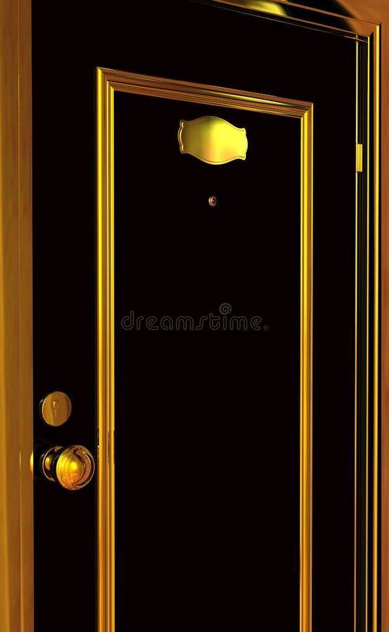 LUXURY DOOR stock images