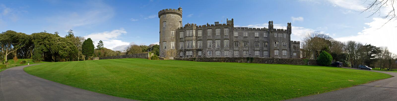 Luxury Dromoland Castle royalty free stock photo
