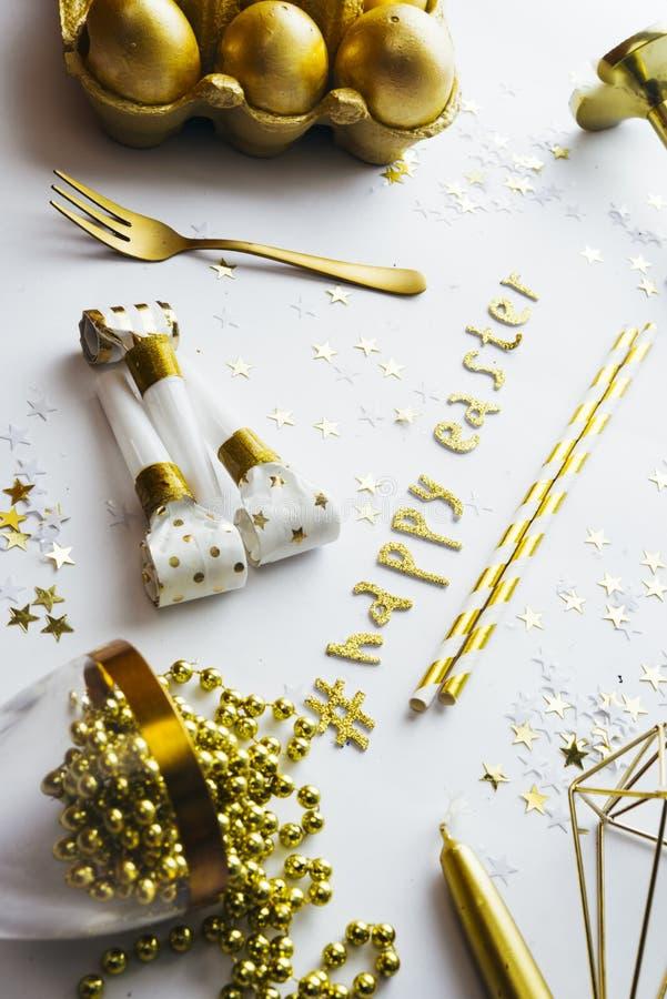 Luxury easter celebration royalty free stock photography