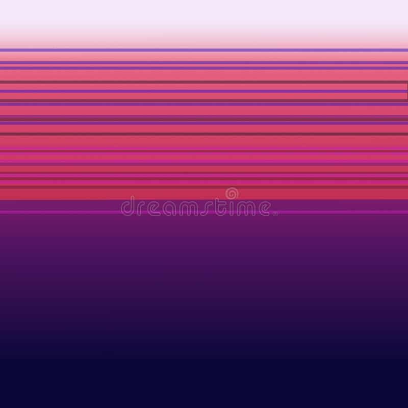 Luxury exotic DESIGN GEOM PLUM Exoticó. LUXURY VINT. DESIGN Pattern Geom lines wild plum pink royalty free illustration