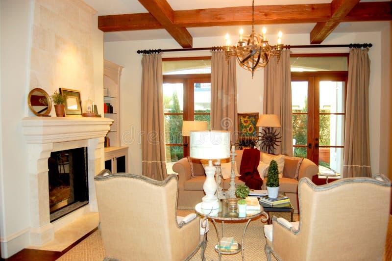 A luxury family room royalty free stock photo