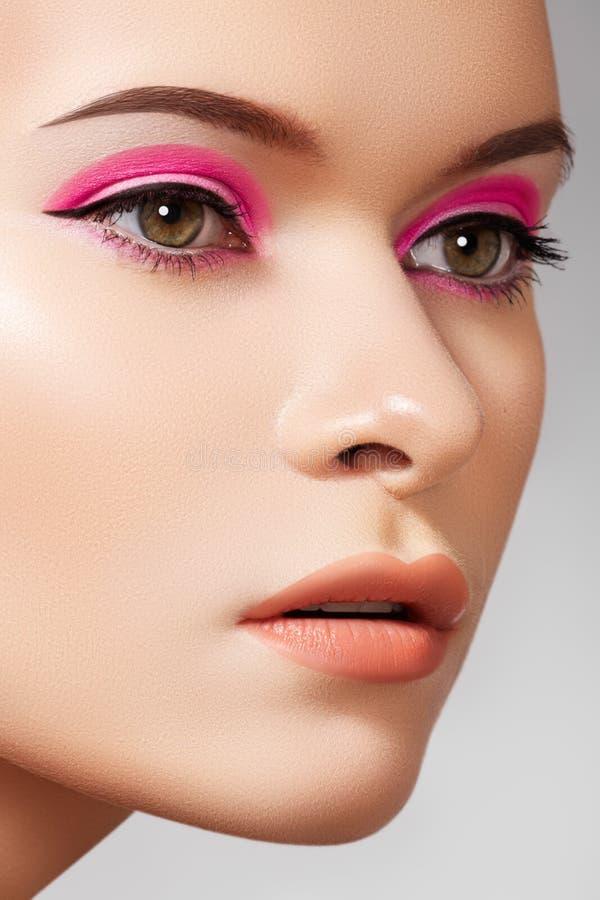 Luxury fashion cosmetics and bright beauty make-up