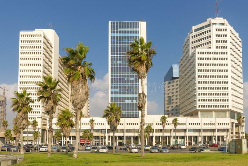 Luxury five-star hotel in the resort area of Tel Aviv. Israil royalty free stock image