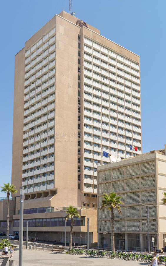 Luxury five-star hotel in the resort area of Tel Aviv. Israil stock photos