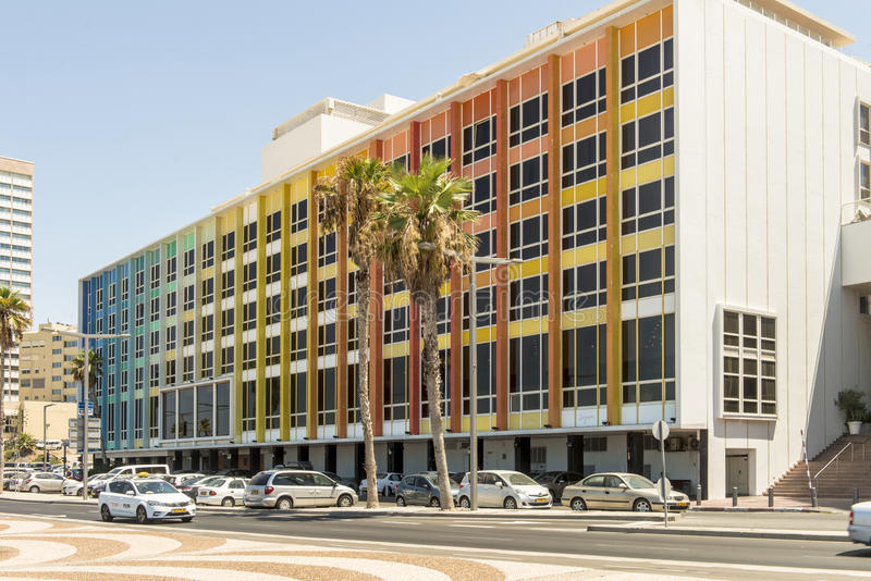 Luxury five-star hotel in the resort area of Tel Aviv. Israil royalty free stock photography