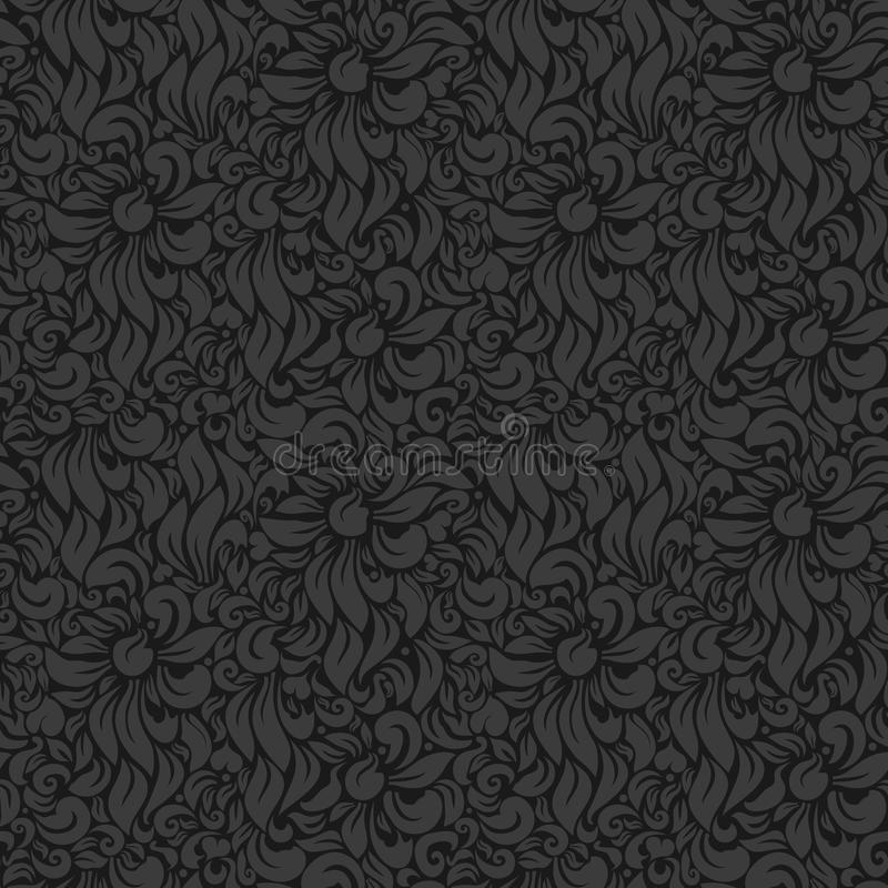 Download Luxury floral background stock vector. Image of baroque - 24380069