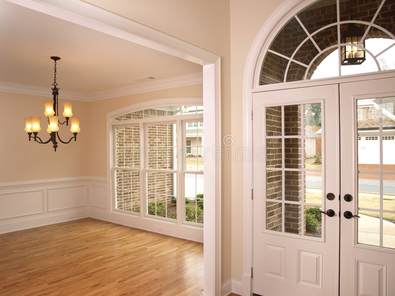 Luxury foyer with arched glass door 2 stock photo image of wall download luxury foyer with arched glass door 2 stock photo image of wall hard planetlyrics Image collections