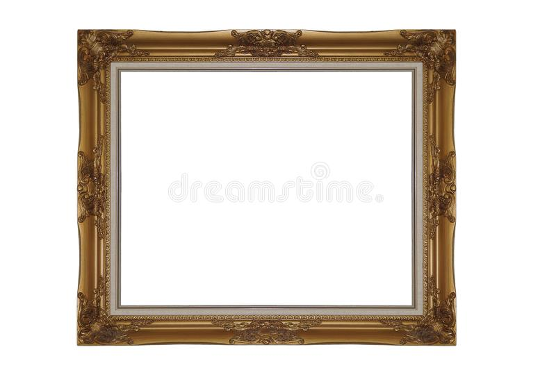 Luxury Frame For the design with clipping path royalty free stock photo