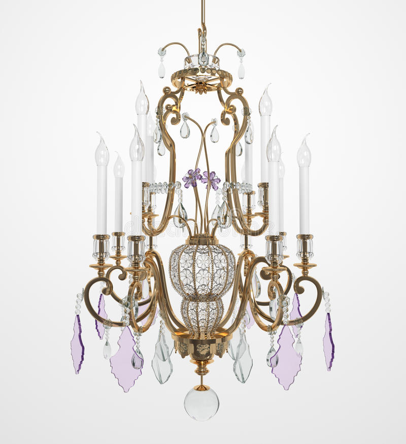 Free Luxury Glass Chandelier Royalty Free Stock Photos - 18047058