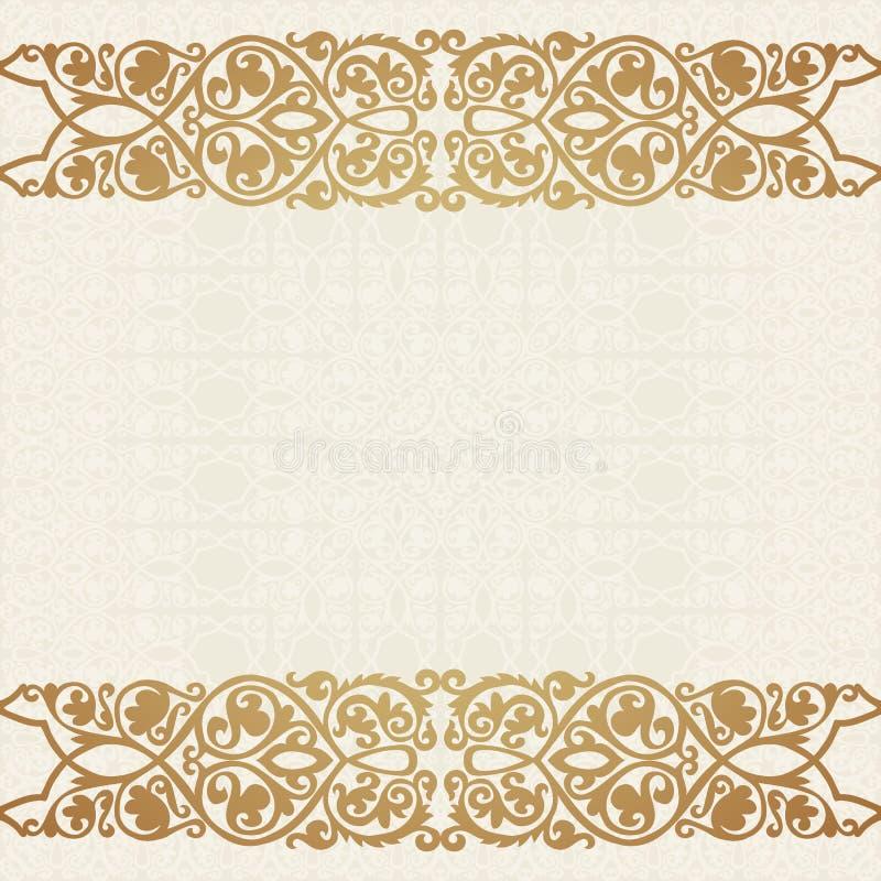 Luxury gold border on seamless background stock vector download luxury gold border on seamless background stock vector illustration of card antique stopboris Gallery