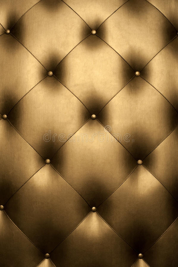 Luxury golden leather royalty free stock image