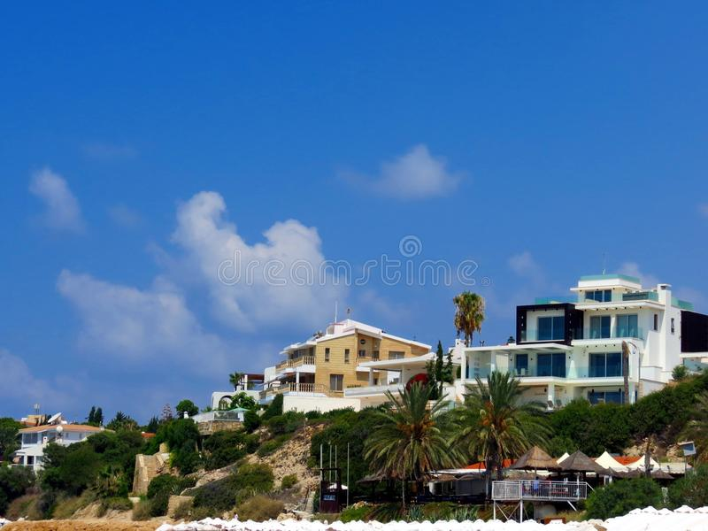 Luxury holiday in mysterious Cyprus royalty free stock photo