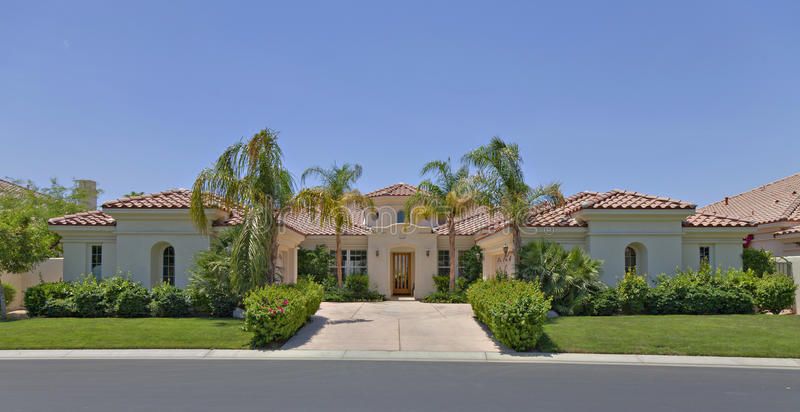 Luxury home stock images