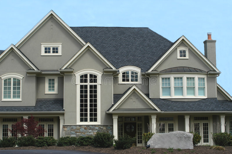 Luxury Home stock image