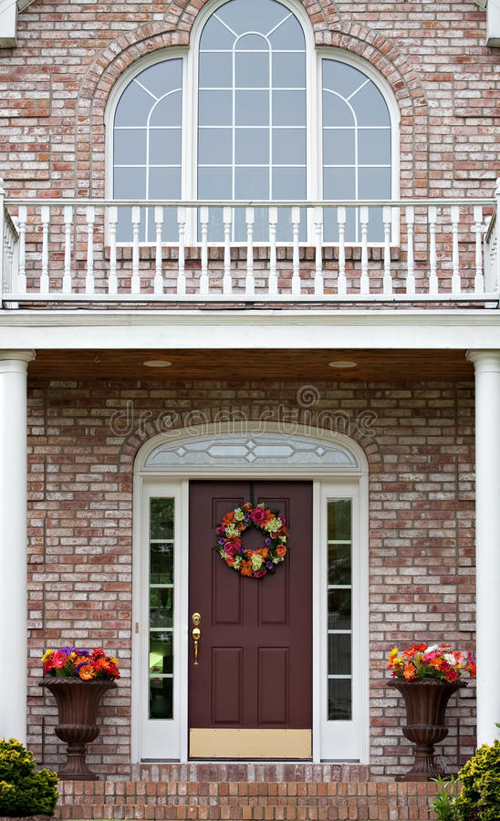 Download Luxury Home Entrance stock photo. Image of real, built - 14942244