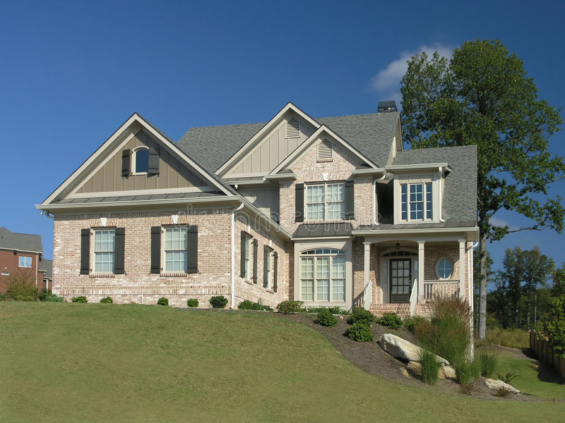 Luxury Home Exterior 13 stock image