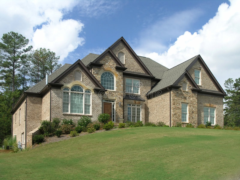 Luxury Home Exterior 40 royalty free stock images