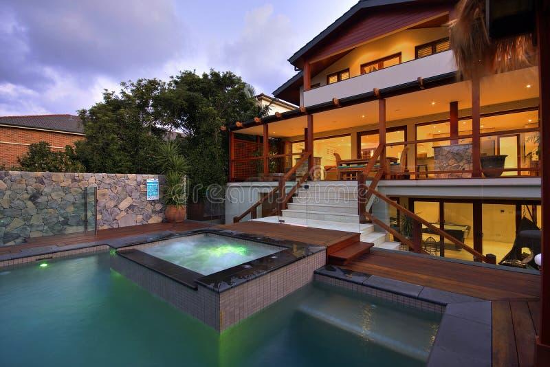Luxury Home Exteriror 2 royalty free stock photo