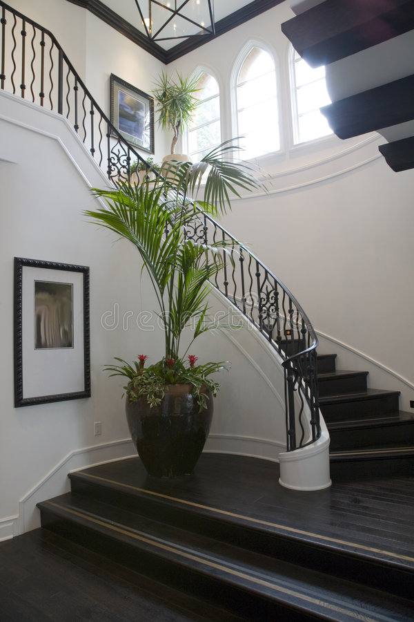 Download Luxury Home Hallway. Royalty Free Stock Images - Image: 4685689