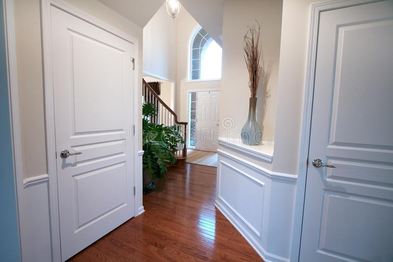 Luxury home interiors royalty free stock image