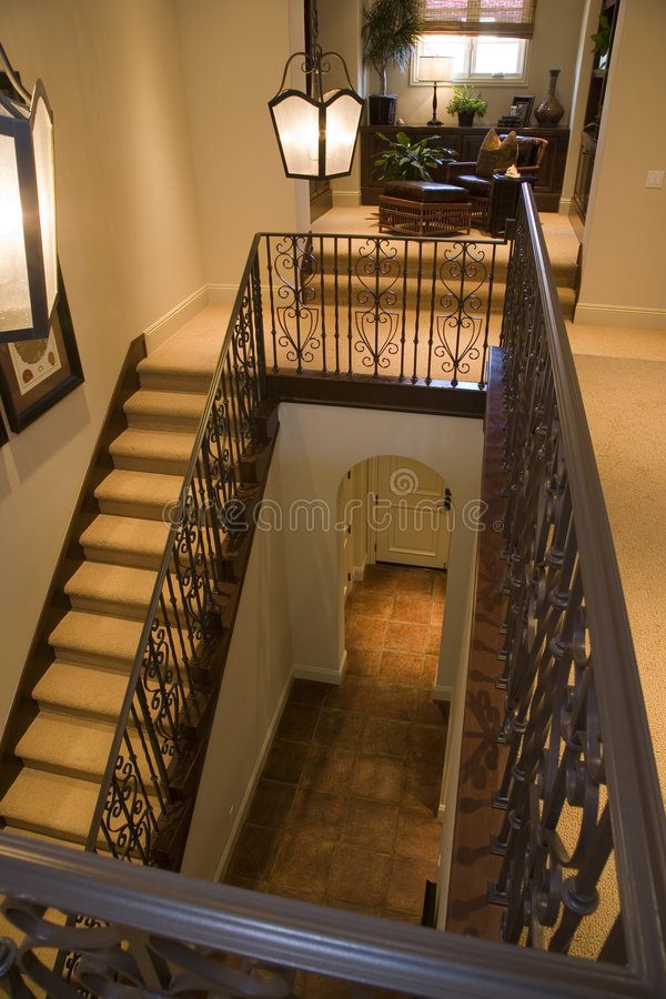 Download Luxury Home Staircase Royalty Free Stock Photos - Image: 5067868