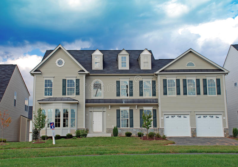 Download Luxury Home Under Construction 4 Royalty Free Stock Photos - Image: 12103188