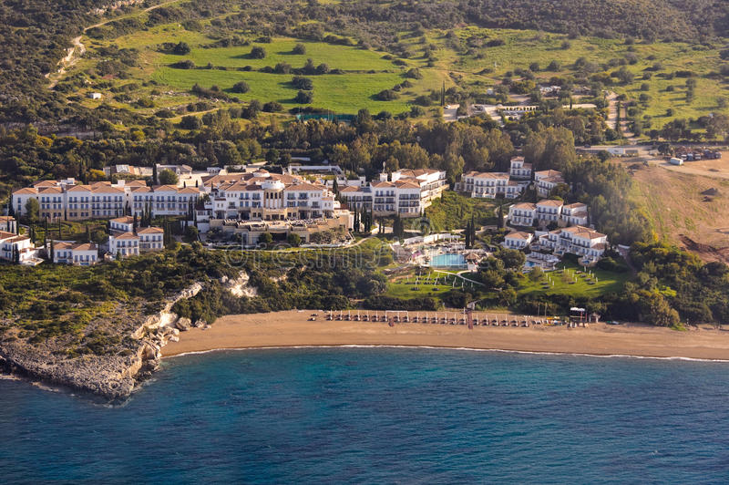 Download Luxury hotel aerial stock image. Image of aerophotography - 22315141