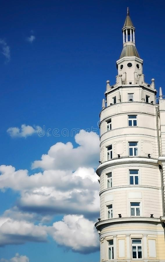 Hotel Baltschug Kempinski, Moscow, Russia. Luxury Hotel Baltschug Kempinski in Moscow, located in city center, walking distance from Red Square royalty free stock photos