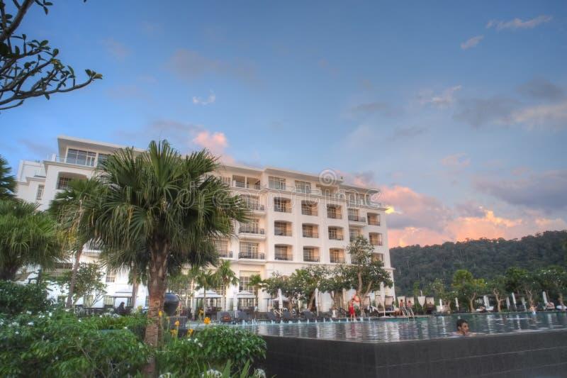 Luxury hotel - The Danna, Langkawi royalty free stock photo