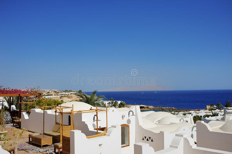 Download Luxury hotel in Egypt stock photo. Image of sharm, reef - 24632968