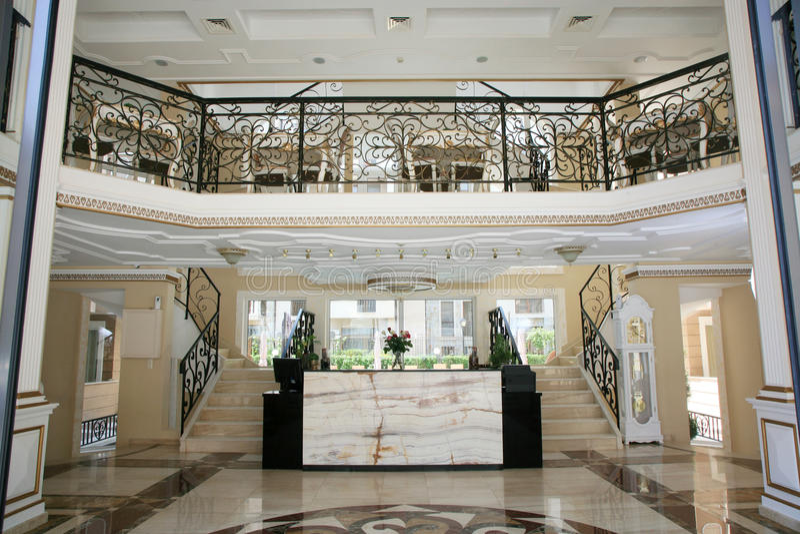 Download Luxury hotel interior stock photo. Image of reception - 34446314