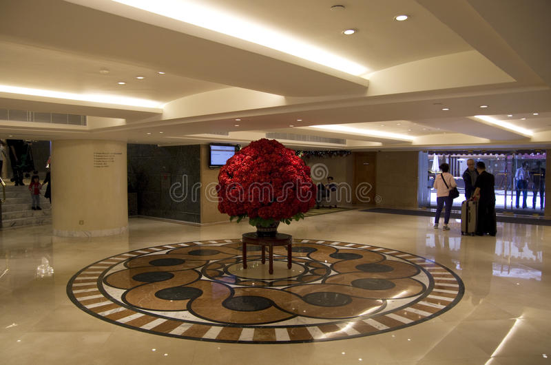 download luxury hotel lobby interior editorial photography image of hong lighting 63662502