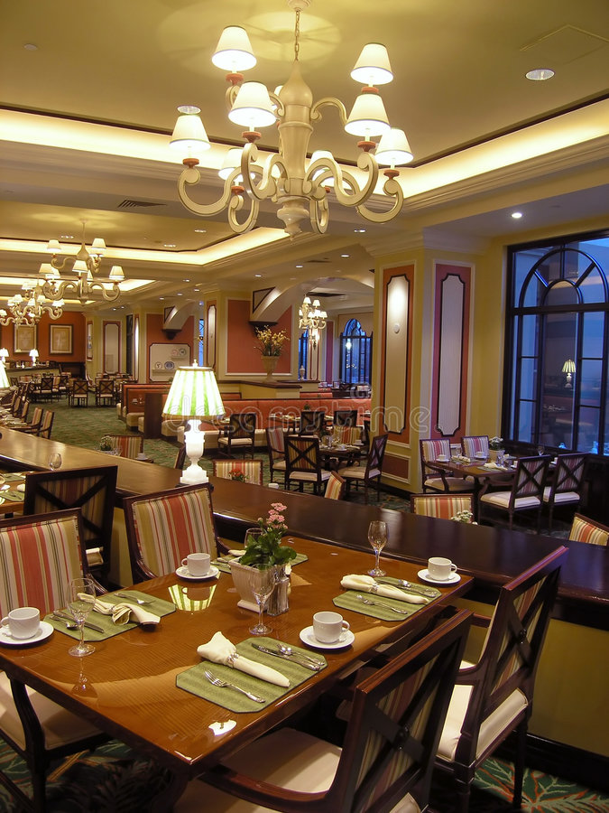 Download Luxury hotel restaurant 2 stock image. Image of rich, indoors - 1634571