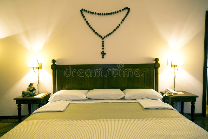 Luxury hotel room quito ecuador royalty free stock photos