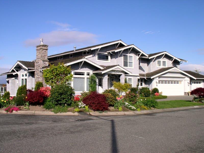 Luxury house stock image
