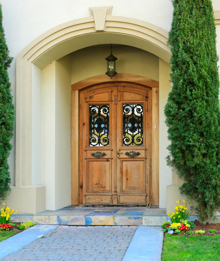 Superb Download Luxury House Entrance Porch Stock Image   Image Of White, Design:  43245193