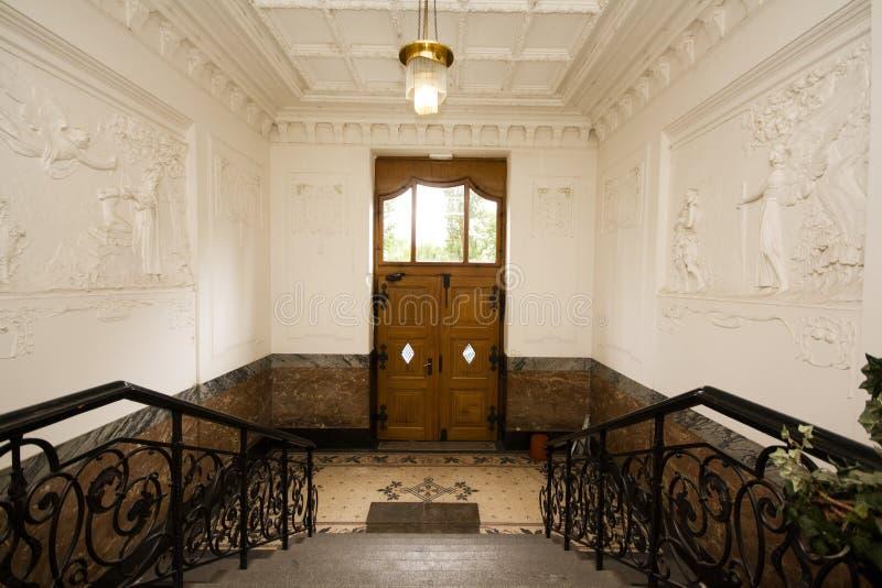 Download Luxury interior stock image. Image of corridor, noveau - 20007897