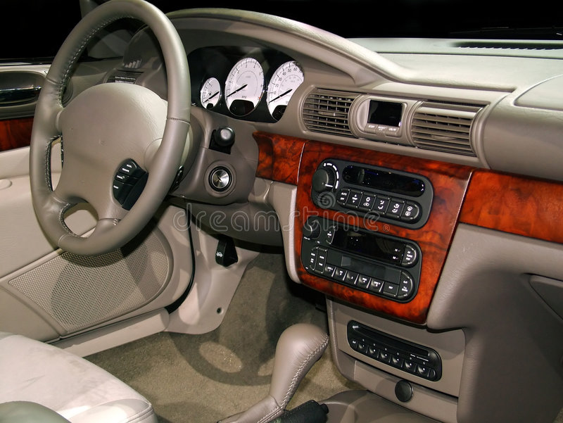 Download Luxury interior stock photo. Image of vehicle, show, leather - 62144