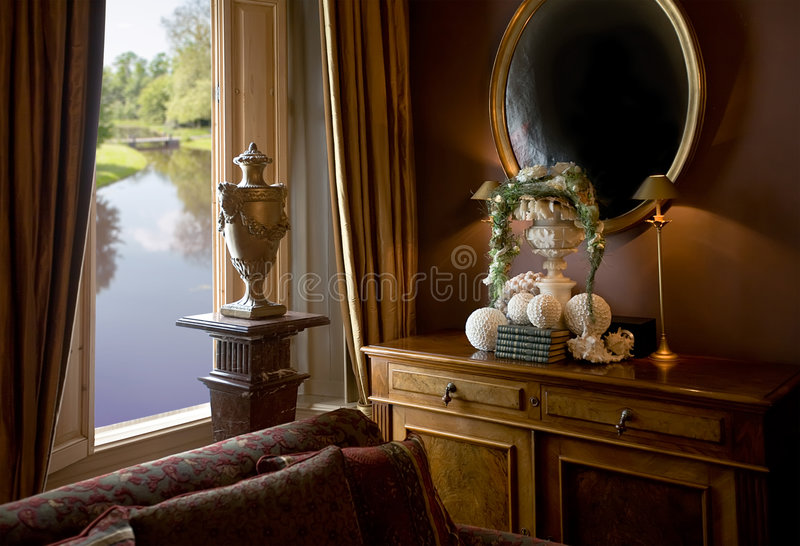 Download Luxury interior stock photo. Image of attractive, baroque - 8837422