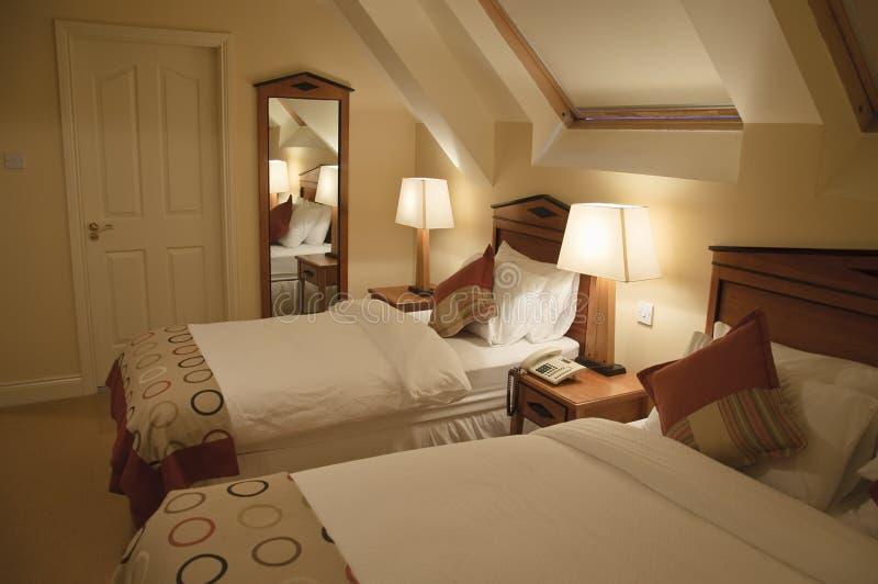 Luxury Interior Of Modern Bedroom Stock Images
