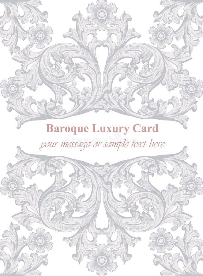 Luxury invitation card vector royal victorian rich ornament download luxury invitation card vector royal victorian rich ornament backgrounds stock vector illustration of stopboris Images