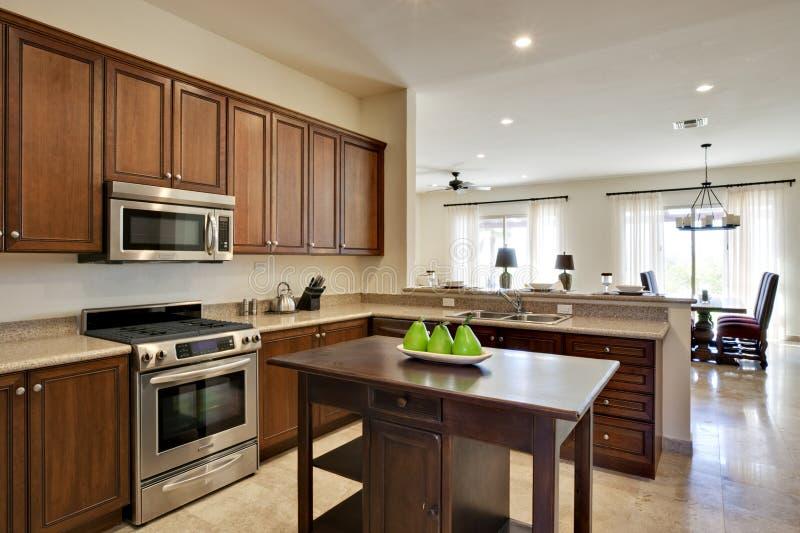 Download Luxury Kitchen stock image. Image of clean, range, metal - 10182171