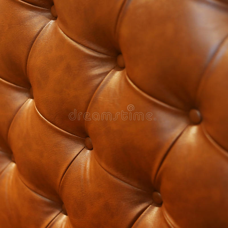Luxury leather sofa furniture. Abstract luxury brown leather texture sofa furniture upholstery or wall interior decoration background royalty free stock image