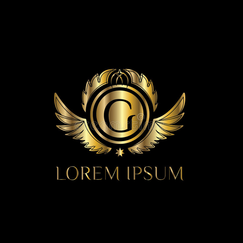 Luxury Letter G Logo. Vector Logo Template Sign, Symbol ...