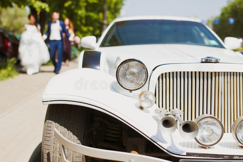 Luxury Lincoln Limo royalty free stock photo