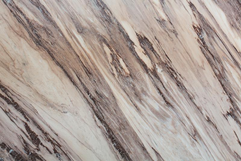 Luxury lined brown marble texture for your interior. stock image